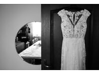 Wedding Dress for sale £600 (together with veil and jacket)