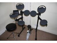 Yamaha DTX430K Electronic Drum Kit complete with Manual, Sticks and Stool
