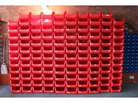 118 x Warehouse Storage Picking Bins Part Containers Plastic