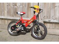 "Raleigh child's bike 14"" wheels VGC"