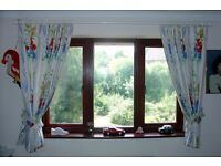 Colourful, Patterned, Window Curtains