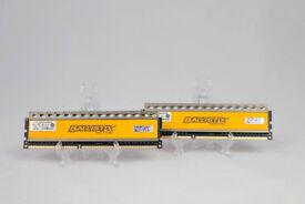 Crucial Ballistix Tactical 2x8GB (16GB) 1600MHz; DDR3 Ram(BLT8G3D1608DT1TX0)