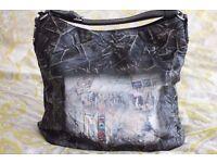 Brand new unused Italian Eco - Leather handbag