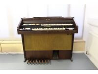 Hammond organ 1970's with built-in cassette recorder