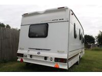 swift challenger 470 SE 1998 2 berth caravan