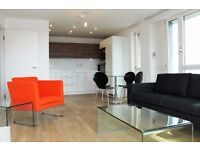 ** Modern Style 2 bed 2 bath apartment, private balcony, Gym, Bromley By Bow, E3 - AW