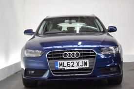 AUDI A4 AVANT 2.0 AVANT TDI SE TECHNIK 5d 141 BHP (blue) 2012