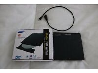 Samsung Ultra Thin DVD Writer boxed and un-used