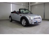 2004 MINI Convertible 1.6 One 2dr, New MOT, Low Mileage
