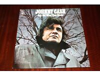 Johnny Cash Any Old Wind That Blows Vinyl LP Record