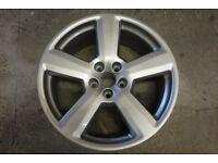 4 alloy wheels Audi VW 3 perfect 1 welded and restored. 18 X 8J