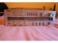 Vintage SONY STR-V3L FM Stereo FM/AM receiver amplifier