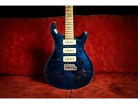PRS Custom 22 Soap Bar Whale Blue Birds Flame Maple Neck 10 Top guitar (2000) for sale