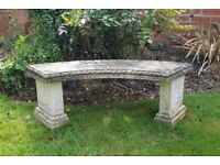 Curved Garden Seat