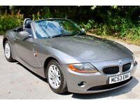 BMW Z4 2.2 i SE Roadster, 12 months MOT, Full Service History, 12 months WARRANTY available