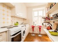 Spacious one bedroom flat in this excellent location