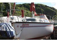 Dufour 2800 27ft 5 berth sailing yacht .