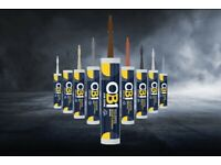 OB1 Waterproof Multi-Surface Sealant and Adhesive Pack of 12 ALL COLOURS