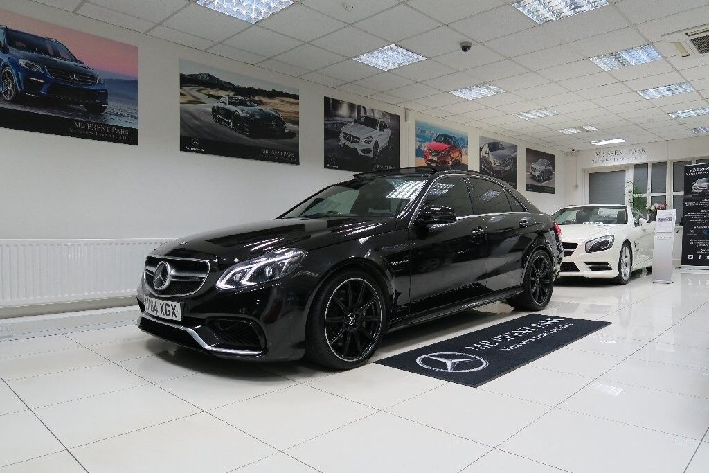 Mercedes benz e class 5 5 e63 amg mct 4dr auto black for Mercedes benz e class black