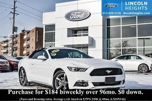 2016 Ford Mustang V6 - BLUETOOTH - REVERSE PARK ASSIST - CLOTH C