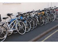 Second hand Student University Bikes Mountain Town City Bikes from £65