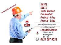 SMSTS/SSSTS/Traffic Marshall/Fire Marshall/First AID