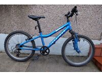 Child Ridgeback MX20 Bike. Blue, suit 8-12yo.