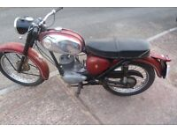 1967 175cc BSA Bantam tax and MOT exempt