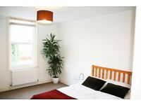 Large Double Bedroom in friendly, modern and social 3 bedroom mixed flat share.