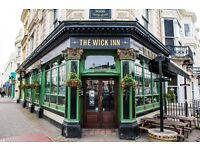 Site Manager at THE WICK INN, HOVE, and Assistant Manager at the PRESTON PARK TAVERN