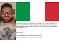 Italian lesson from native speaker