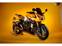 Unique Yamaha FZ1 - featured in Bike Magazine - includes Givi panniers and frames