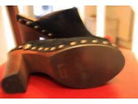 Classic Chanel Mules, bought for £800. On sale for £150