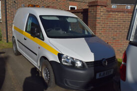 Volkswagen Caddy C20 TDI van 2011 VW service history, full VW service carried out 2,000 miles ago