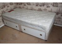 Single 3ft Devan Bed with Drawers