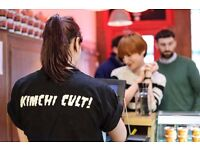 Kimchi Cult Part Time Catering Assistant / Full Time Shift Leader Chef positions available