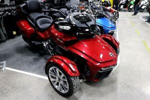 2017 Can-Am Spyder Save up to $4804 on a 2016 Spyder