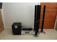 Sony DAB 7.1 Receiver and Pioneer Speaker Bundle