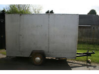 Trailer 10ft X 4Ft no longer used