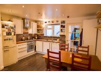 Two bedroom, furnished garden apartment in Bishopston, two minutes' walk from Gloucester Road
