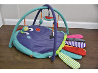 Mamas & Papas Babyplay Tummy Time Octopus Playmat and Gym