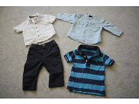 baby boys clothes bundle, 4 items from Next, 6-9 months, excellent condition
