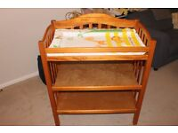 Mamas and Papas changing table with mat