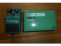 BOSS TR2 TREMELO PEDAL.