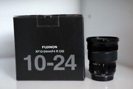 Fujifilm X-T1 incl. 35mm + 10-24mm + 56mm + 55-200mm + Extra Battery + Lowerpro Camera Bag + Tripod
