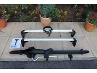 Genuine VW Golf Mark 5 & 6 Roof Bars plus cycle holder.