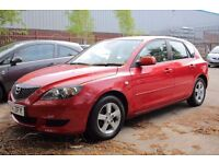 54 Mazda 3 1.6 TS 5dr,one owner from new,one year mot