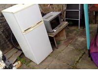 Scrap metal fridge and microwave FREE