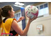 Play Social Netball! Spaces for Teams and Players!