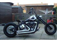 Harley Davidson 1340 evo Custom Built Chopper / Bobber...